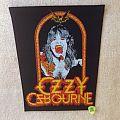 Ozzy Osbourne - Speak Of The Devil - Vintage Backpatch