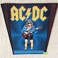 AC/DC - Who Made Who - Vintage Back Patch