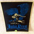 Judas Priest - Sad Wings Of Destiny - Yellow Border - Woven Backpatch