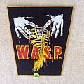 W.A.S.P. - F**k Like A Beast - Yellow Border - Vintage Backpatch