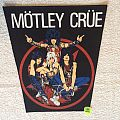 Mötley Crüe - Pentagram And Band - Vintage Backpatch