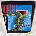 D.R.I. - Dirty Rotten - Vintage Back Patch - Dirty Rotten Imbeciles