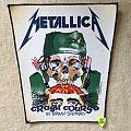 Metallica - Crash Course In Brain Surgery - 1987 Metallica - Tronseal - Backpatch