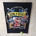 Guns 'N' Roses - Skull And Guns - 1990 Guns 'N' Roses - Brockum - Back Patch