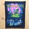 Megadeth - No more Mr. Nice Guy - 1989 Brockum Back Patch