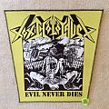 Toxic Holocaust - Evil Never Dies - Backpatch