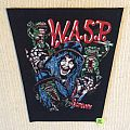 W.A.S.P. - Scream Until You Like It - Vintage Back Patch