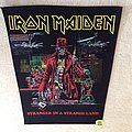 Iron Maiden - Stranger In A Strange Land - Vintage Backpatch