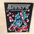 Accept - Balls To The Wall - Black Border - Backpatch