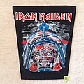 Iron Maiden - Aces High - Long Version - Vintage Backpatch