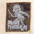 Iron Maiden - Patch - Iron Maiden - Sanctuary - Vintage Backpatch - Orange Border