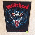 Motörhead - Rock 'n' Roll - Vintage Backpatch - Version 2