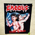 Exodus - Bonded By Blood - Backpatch - Version 1