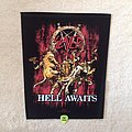 Slayer - Hell Awaits - 2009 Slayer  - Backpatch