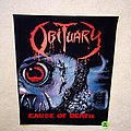 Obituary - Patch - Obituary - Cause Of Death - Backpatch