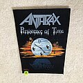 Anthrax - Patch - Anthrax - Persistence of Time - 1990 Tronseal Back Patch