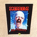 Scorpions - Blackout - 2018 Scorpions - Backpatch
