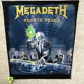 Megadeth - Patch - Megadeth - Rust In Peace - Backpatch