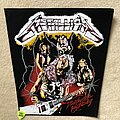 Metallica - Patch - Metallica - Ride The Lightning - Band - Black Border - Backpatch