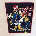 Mercyful Fate - Don't Break The Oath - Red Border - Backpatch