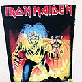 Iron Maiden - Patch - Iron Maiden - The Number Of The Beast - Backpatch