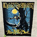 Iron Maiden - Patch - Iron Maiden - Fear Of The Dark - Backpatch
