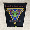 Black Sabbath - Patch - Black Sabbath - TYR - 1990 Black Sabbath - Brockum - Backpatch