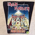 Iron Maiden - Patch - Iron Maiden - Pwerslave - Backpatch