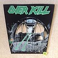 Overkill - Patch - Overkill - Under The Influence - Vintage Backpatch