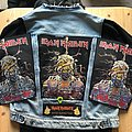 Iron Maiden - Patch - Iron Maiden - Powerslave Mummy - World Slavery Tour Backpatch - Different...