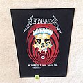 Metallica - In Vertigo You Will Be - 1989 Metallica - Brockum - Backpatch