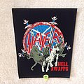 Slayer - Hell Awaits - Black Border - Backpatch