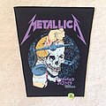 Metallica - Damaged Justice - 1988 Metallica - Brockum - Backpatch