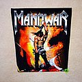 Manowar - Patch - Manowar - Kings Of Metal - Backpatch Version 2