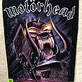 Motörhead - Patch - Motörhead - Orgasmatron - Backpatch