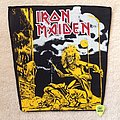 Iron Maiden - Patch - Iron Maiden - Sanctuary - Short Version - Vintage Backpatch