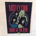 Mötley Crüe - Shout At The Devil World Tour 1983 - 2018 Mötley Crüe - Backpatch