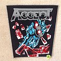 Accept - Balls To The Wall - Grey Border - Backpatch