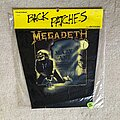 Megadeth - Patch - Megadeth - Mary Jane - 1988 Brockum Backpatch - Still sealed