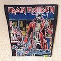 Iron Maiden - Stranger In A Strange Land - Vintage huge Backpatch