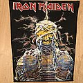 Iron Maiden - Patch - Iron Maiden Powerslave Mummy Backpatch from the 80s