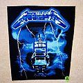 Metallica - Patch - Metallica - Ride The Lightning - Backpatch