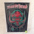 Motörhead - Snaggletooth - Green Version - Vintage Backpatch