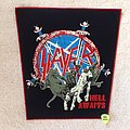 Slayer - Hell Awaits - Red Border - Backpatch