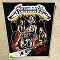 Metallica - Patch - Metallica - Ride The Lightning - Band - White Border - Backpatch