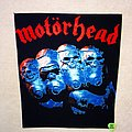 Motörhead - Patch - Motörhead - Iron Fist - Backpatch