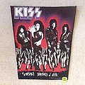 Kiss - Smashes, Thrashes & Hits ... - 1989 The Kiss Company  - Backpatch