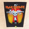Iron Maiden - A Real Dead One - Inner Cover - 1993 Iron Maiden Holdings Ltd. - Backpatch