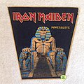Iron Maiden - Patch - Iron Maiden - Powerslave - Vintage Backpatch - Orange Border