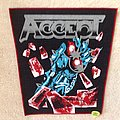Accept - Balls To The Wall - Red Border - Backpatch